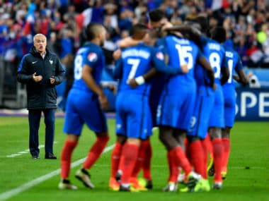File photo of France national football team. Getty Images