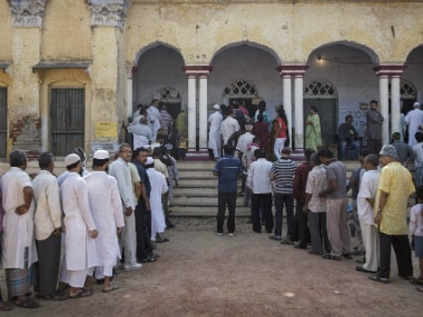 Varanasi votes in last phase of UP state elections. Getty