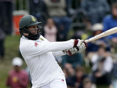 Hashim Amla is now on the verge of becoming the fourth South African batsman to 8,000 Test runs. AP