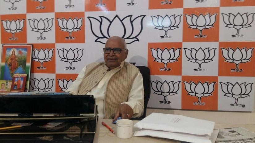 Hriday Narayan Dikshit, BJP Spokesperson for Uttar Pradesh. FirstpostTufail Ahmad
