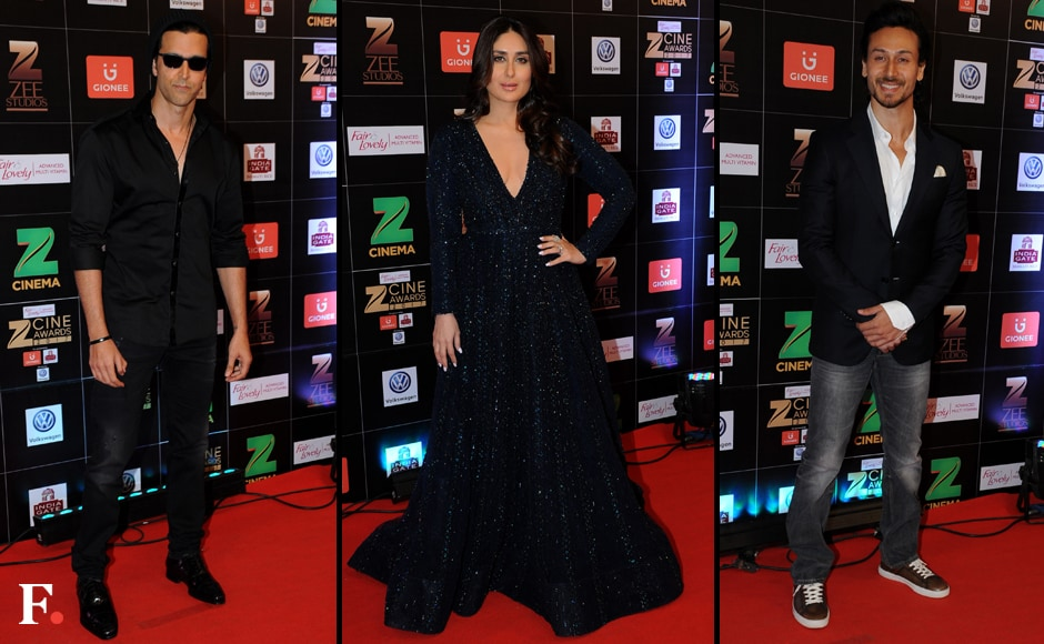 Hrithik Roshan, Kareena Kapoor, Tiger Shroff. Sachin Gokhale/Firstpost