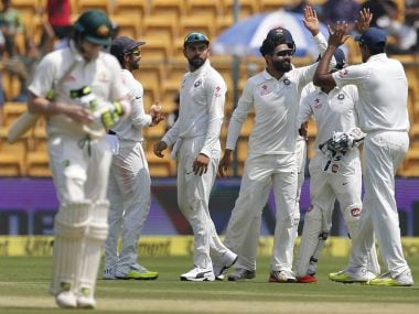 India must try to restrict Australia under 75. AP