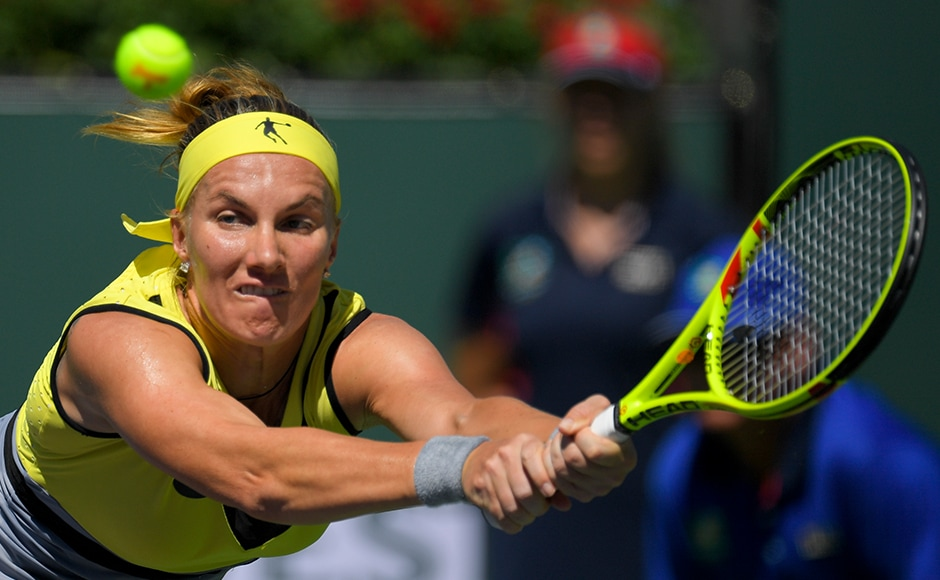 Svetlana Kuznetsova is now 0-3 in finals here, also finishing runner-up in 2007 and 2008. At age 31, Kuznetsova was the fifth-oldest women to reach the final. AP