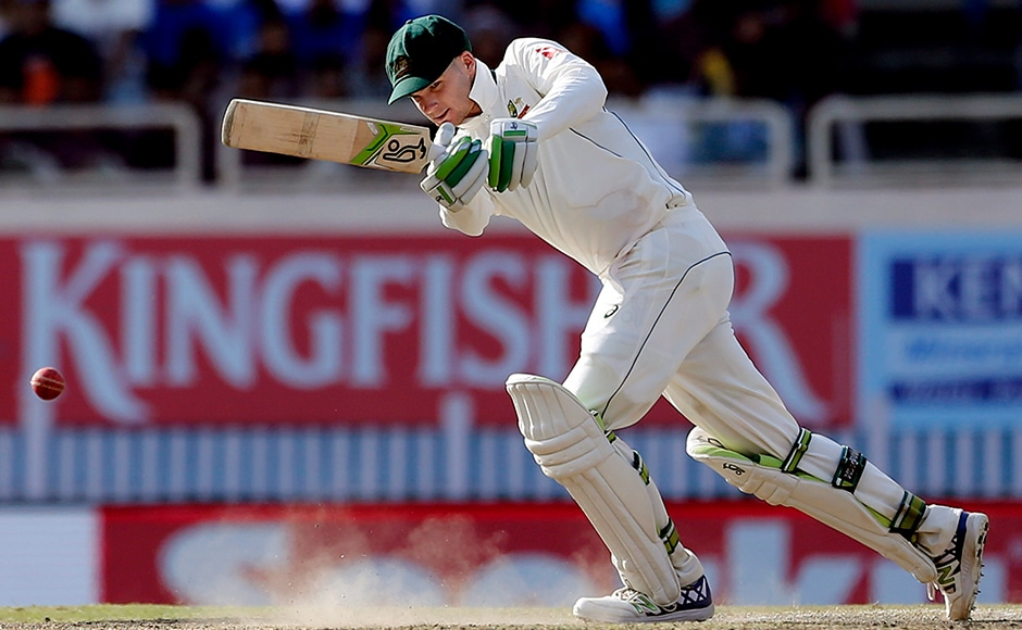 But finally, it was Peter Handscomb whose match-saving unbeaten 72 and a crucial partnership with Shaun Marsh guided Australia to a draw against India.