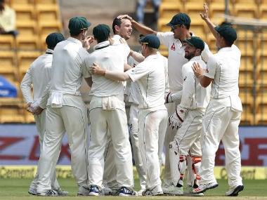 Australian cricket team. AP