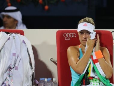File picture of Angelique Kerber. AFP