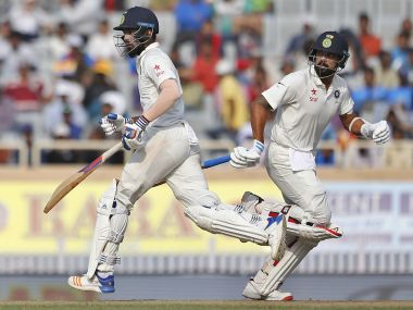 KL Rahul and Murali Vijay would look to give India a good start on Day 2 in Dharamsala. AP