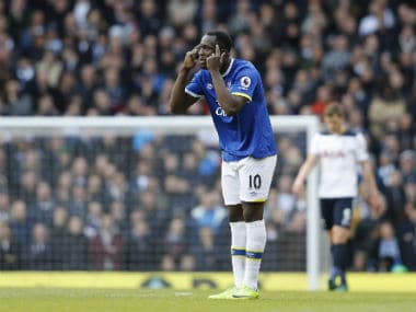 Romelu Lukaku eyes Champions League football. AFP