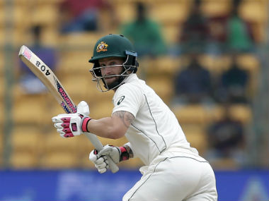 Matthew Wade referred to the Indian team as a caged lion. AP