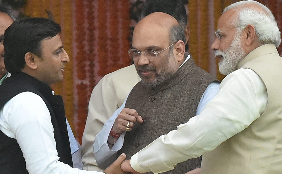 """""""How do you deal with dissenters who rebel against the party?"""" Akhilesh Yadav asks Amit Shah. """"With my bare fists,"""" Shah replied."""