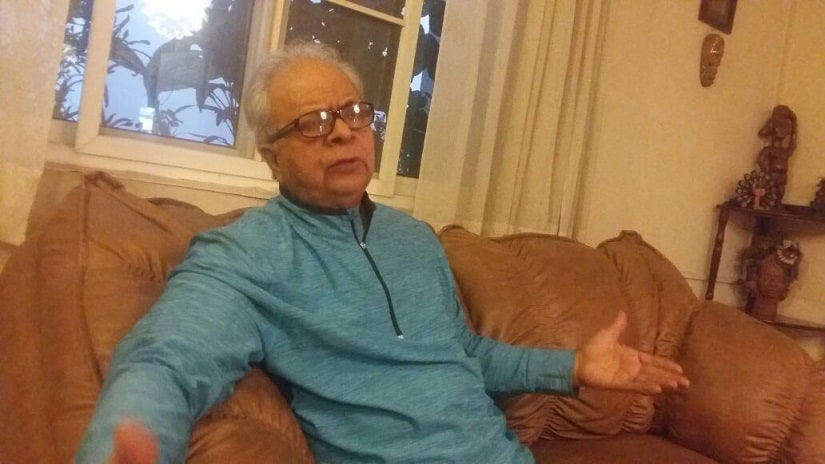 Nadeem Hasnain, noted Muslim intellectual and social anthropologist. Firstpost/Tufail Ahmad