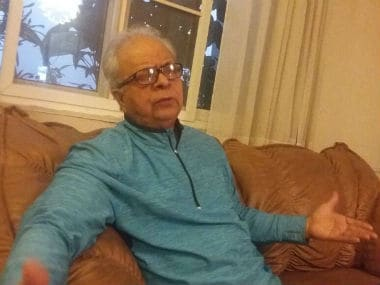 Muslim intellectual and social anthropologist Nadeem Hasnain, who lives in Lucknow. Photo courtesy: Tufail Ahmad