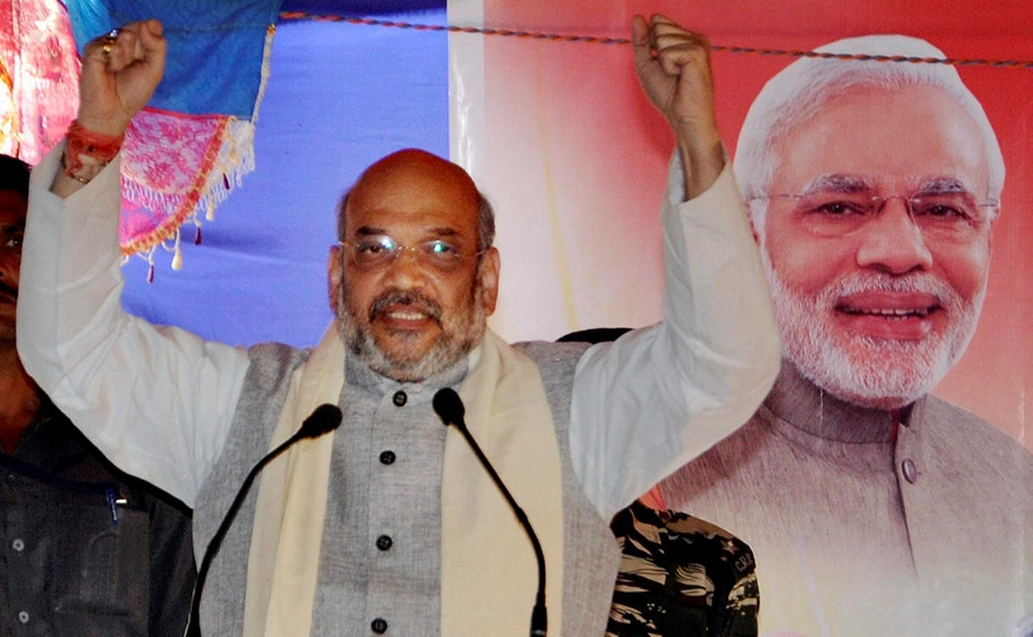 BJP president Amit Shah while campaigning in Imphal pledged that corruption cases involving leaders of the incumbent Congress government would be duly investigated and all those found guilty would be imprisoned if his party took power. PTI
