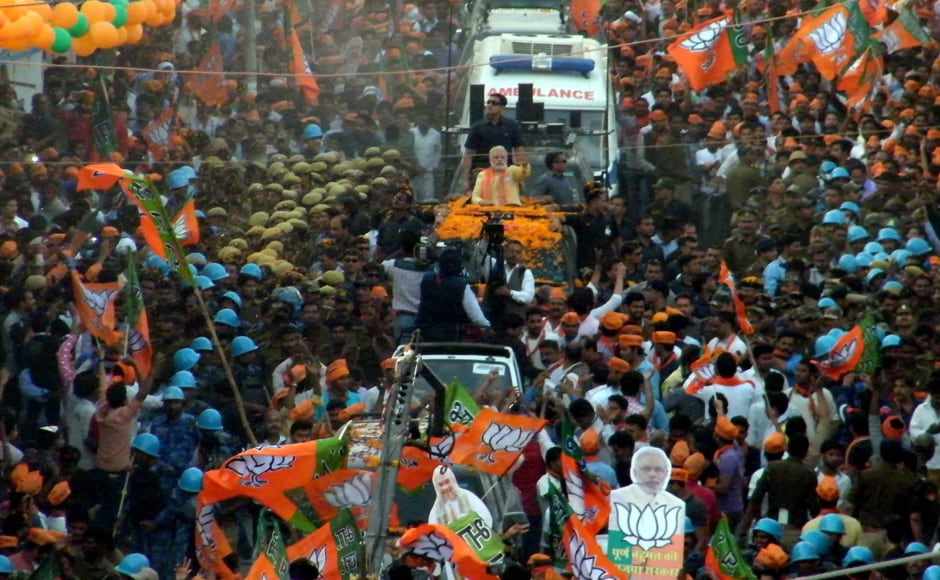 With Modi representing Varanasi in the Lok Sabha, his party is doing all it can to put up a commanding performance here. Apart from the prime minister, a host of Union ministers and top BJP leaders led by Amit Shah have been campaigning here ahead ofthe last phase of polls. PTI