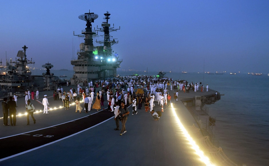 The warship was decommissioned on Monday evening, at an impressive ceremony onboard and in the presence of Navy chief Admiral Sunil Lanba and top armed forces officials. PTI