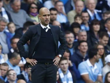 Manchester City manager Pep Guardiola. AFP