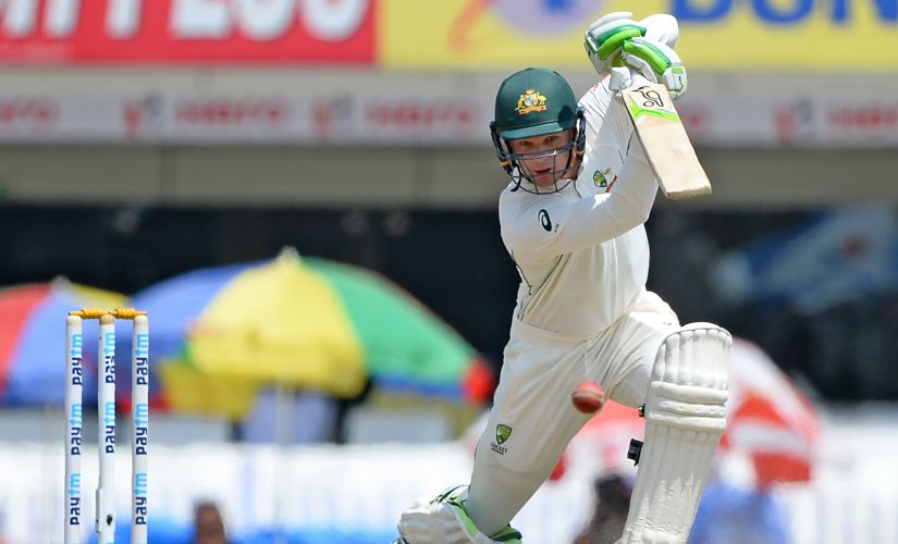 Peter Handscomb played a gem of in innings to help AUstralia save the Ranchi Test. AFP