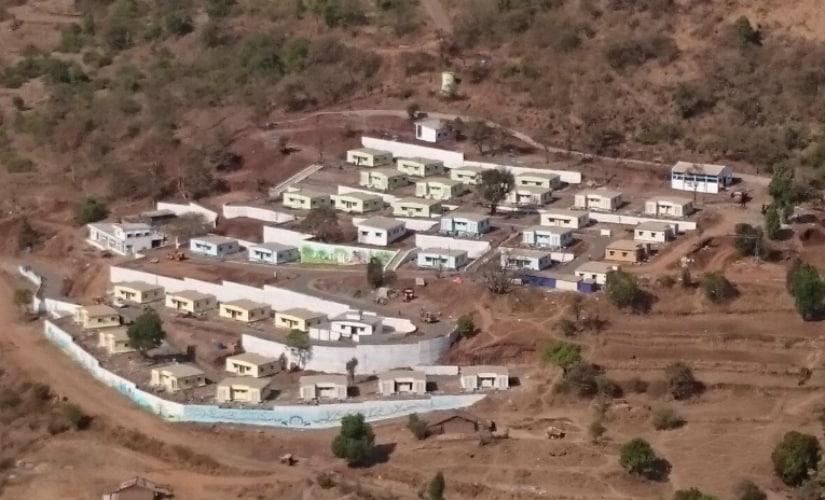 A view of the newly rehabilitated Malin village. Firstpost/Prachee Kulkarni