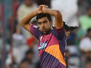 Rising Pune Supergiant's Ravichandran Ashwin. AFP