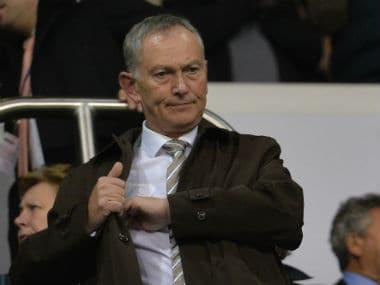File image of Richard Scudamore. AFP