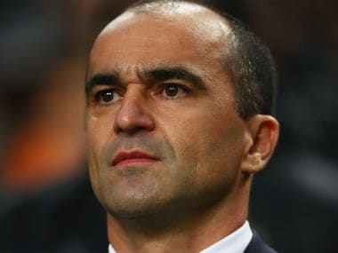 File photo of Roberto Martinez. Getty Images