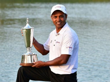 SSP Chawrasia became the second Indian to successfully defend two Indian Open titles. Image courtesy: European Tour via Twitter