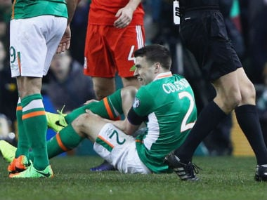 Ireland's Seamus Coleman has effectively been ruled out of the remainder of the season due to the injury. Getty Images