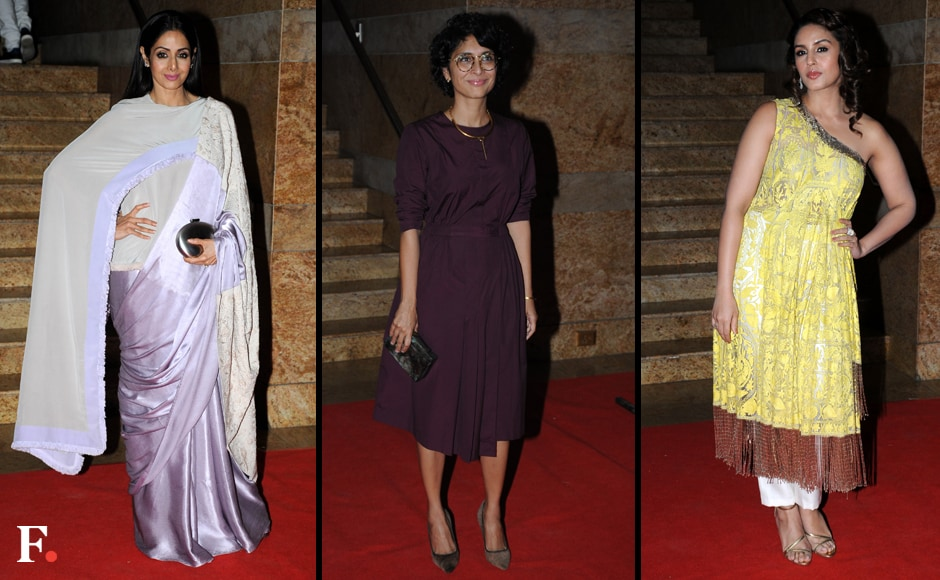 Sridevi, Kiran Rao and Huma Qureshi. Sachin Gokhale/Firstpost