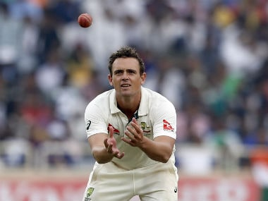 Steve O'Keefe went wicketless in the 77 overs that he had bowled in the only Indian innings in Ranchi. AP