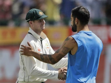 File picture of Steven Smith and Virat Kohli. AP