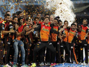 Sunrisers Hyderabad lifted the IPL trophy for the first time by beating Royal Challengers Bangalore in the final last year. Sportzpics