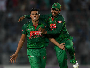 File photo of Taskin Ahmed. Getty Images