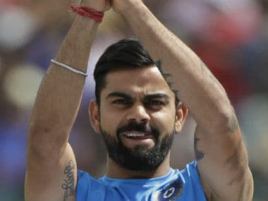 Virat Kohli-led India won 10 out of the 13 Tests that they played in the home season. AP