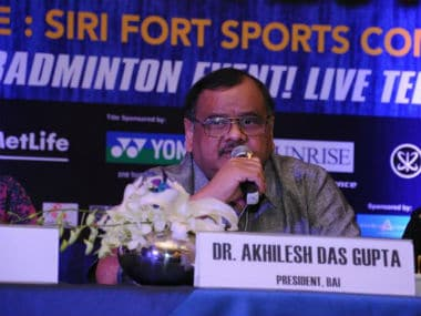 File photo of BAI president Akhilesh Dasgupta. Image courtesy: Twitter/@BAI_Media