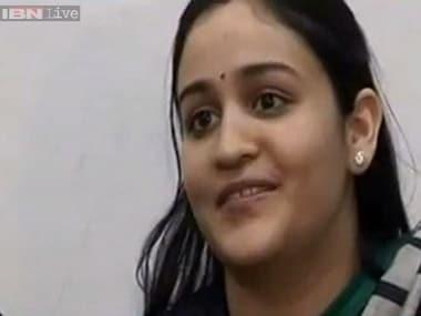 Aparna Yadav. CNN-news 18