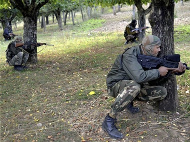 An Indian Army soldier. PTI