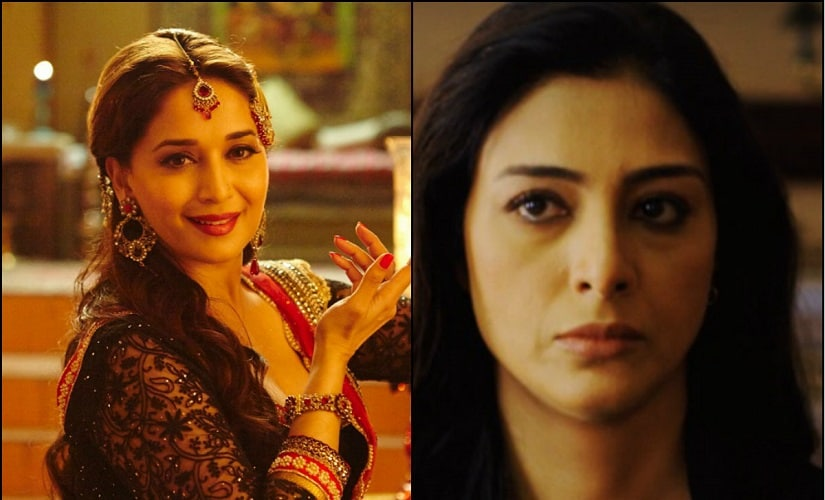 Madhuri Dixit-Nene and Tabu. Images from Facebook.