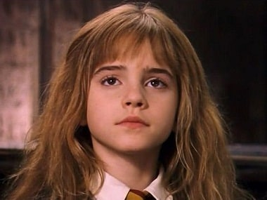 Emma Watson in the first Harry Potter film. Image courtesy: Creative Commons