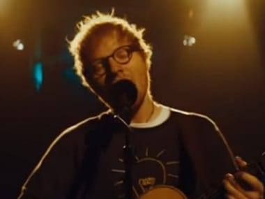 Watch: Ed Sheeran performs new single 'Eraser' from his new studio album, Divide