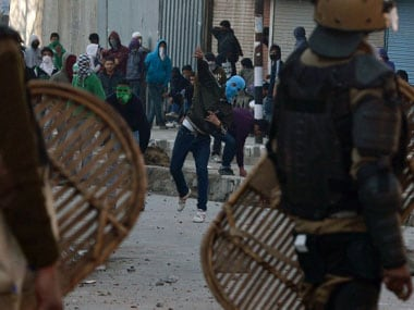Security has beefed up in some areas of South Kashmir following clashes between Kashmiri youth and the security forces. AFP