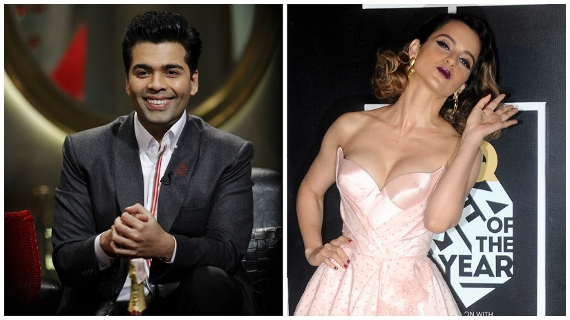Guilty as charged: Karan Johar, Kangana Ranaut, and their now infamour nepotism row has got a fresh boost