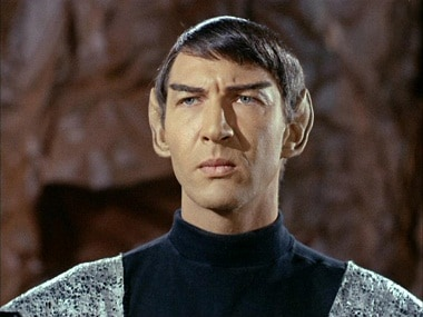 Lawrence Montaigne in a still from Star Trek. Twitter