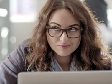 Sonakshi Sinha in a still from Noor. YouTube