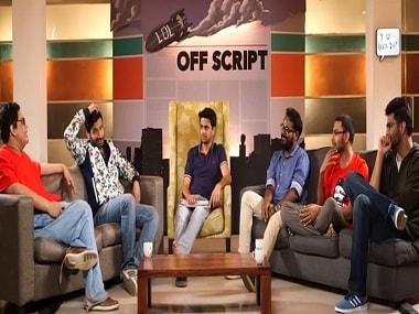 Tanmay Bhat, Kanan Gill, Rohan Joshi, Ashish Shakia, Biswa Kalyan Rath and Gursimran Khamba on On Air With AIB. Hotstar