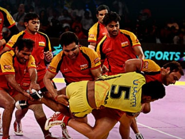 Pro Kabaddi League is going to be a 12-team affair  from this season. Image courtesy: Twitter/@ProKabaddi