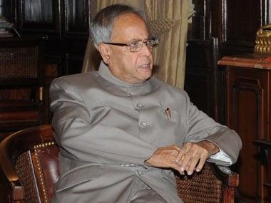President Pranab Mukherjee.
