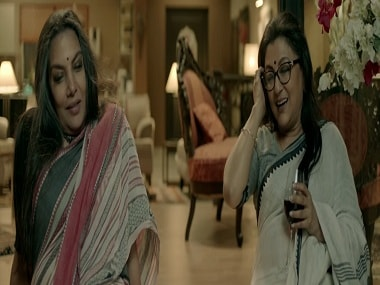 Shabana Azmi and Aparna Sen in a still from Sonata. YouTube