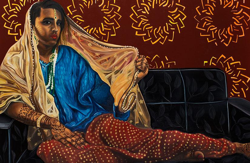 Venus Shraya (2016). Art by Nimisha Bhanot
