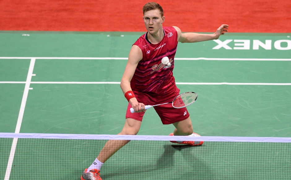 In the men's singles final, Viktor Axelsen of Denmark was up against Taiwan's Chou Tien Chen. AFP