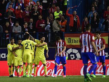 Villarreal stunned Atletico Madrid in La Liga. AFP
